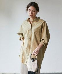 GALLARDAGALANTE(ガリャルダガランテ)のドルマンビッグシャツ(シャツ/ブラウス)