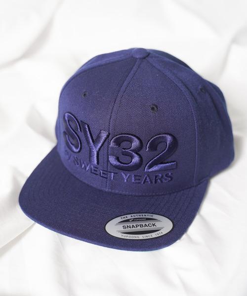 【73】【it】【SY32 by SWEET YEARS】3D LOGO SNAPBACK CAP