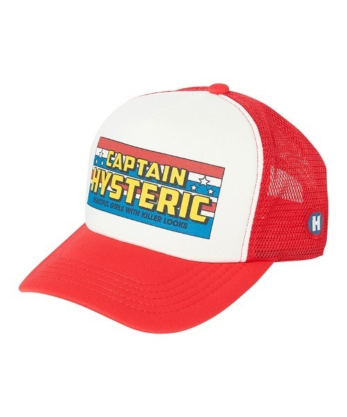 CAPTAIN HYSTERIC メッシュキャップ