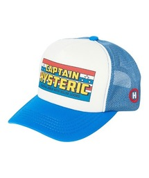 CAPTAIN HYSTERIC メッシュキャップブルー