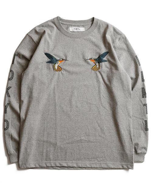 FDMTL / ファンダメンタル HUMMINGBIRD LS TEE FA18/LT39