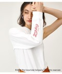 SLY | COCA COLA×SLY ONE SLEEVE T/SH(Tシャツ・カットソー)