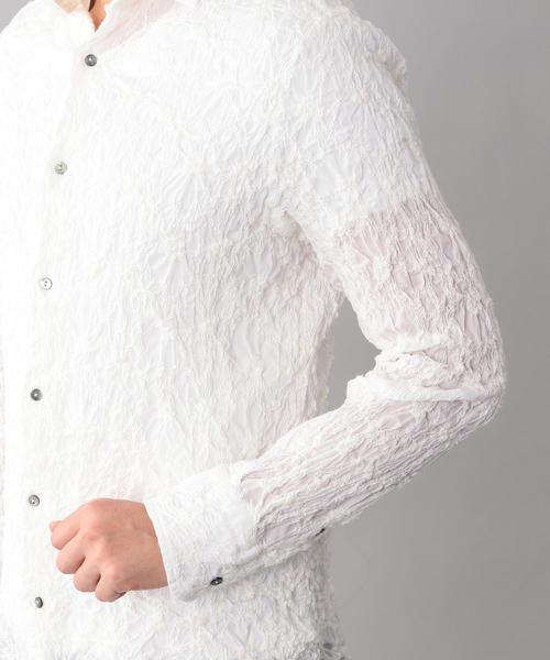 刺繍カジュアルシャツ