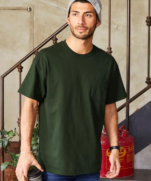 GILDAN/ギルダン オーバーサイズ クルーネック 半袖 Tシャツ
