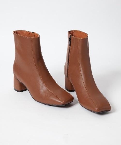 魅力的な Square Gem.,ジェム,SMIR Toe Toe Boots(ブーツ)|Gem.(ジェム)のファッション通販, おもしろ雑貨通販エランドショップ:01894e8f --- 888tattoo.eu.org