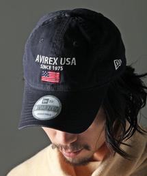 AVIREX(アヴィレックス)のAVIREX×NEW ERA/ アヴィレックス×ニューエラ/ 9TWENTY/ POLO CAP AVIREX U.S.A FLAG/ ポロキャップ AVIREXアメリカ国旗(キャップ)