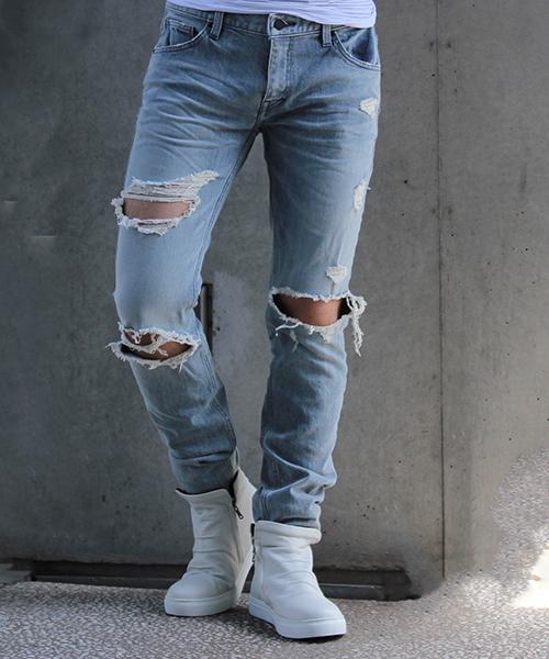 安い購入 【セール】TORNADO MART∴ハードダメージ スキニ-デニム(デニムパンツ)|TORNADO MART(トルネードマート)のファッション通販, ペットコレクション:fe3eba7c --- steuergraefe.de