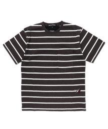 POW DEVIL刺繍 ポケ付Tシャツ【L】