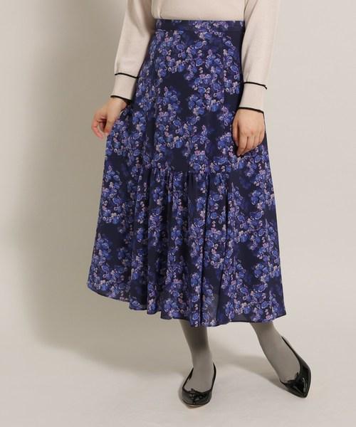 限定価格セール! 【セール】センターギャザーフラワースカート(スカート)|anatelier(アナトリエ)のファッション通販, オートリメッサ:e407d422 --- fahrservice-fischer.de