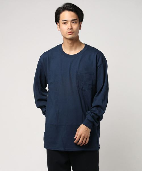 「WEB限定」GILDAN/ギルダン/6ozウルトラコットンポケット長袖Tシャツ