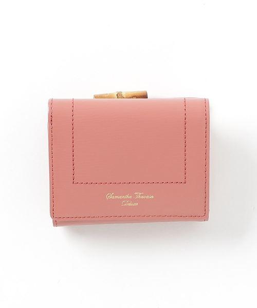 【お取り寄せ】 シンプル三折財布(財布)|Samantha Thavasa Thavasa Deluxe(サマンサタバサ Samantha Thavasa デラックス)のファッション通販, 藤代町:db344fe7 --- hausundgartentipps.de