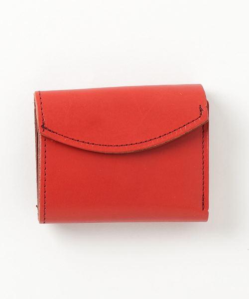 栃木レザー 3つ折り財布