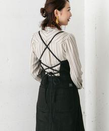 URBAN RESEARCH ROSSO WOMEN(アーバンリサーチ ロッソ)のROSSO×Lee <別注>DENIM JUMPER SKIRT(ジャンパースカート)