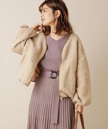 natural couture(ナチュラルクチュール)のNEWボアブルゾン(ブルゾン)