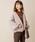 natural couture(ナチュラルクチュール)の「NEWボアブルゾン(ブルゾン)」|ピンク