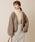 natural couture(ナチュラルクチュール)の「NEWボアブルゾン(ブルゾン)」|モカ