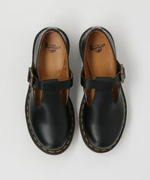 <Dr.Martens>POLLEY Tバーレザーシューズ :