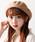 WEGO(ウィゴー)の「WEGO/バスクベレー帽(ハンチング/ベレー帽)」|ベージュ