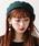 WEGO(ウィゴー)の「WEGO/バスクベレー帽(ハンチング/ベレー帽)」|グリーン