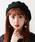WEGO(ウィゴー)の「WEGO/バスクベレー帽(ハンチング/ベレー帽)」|ブラック