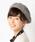 MELROSE claire(メルローズ クレール)の「フォックスファー付ニット帽(ニットキャップ/ビーニー)」|詳細画像