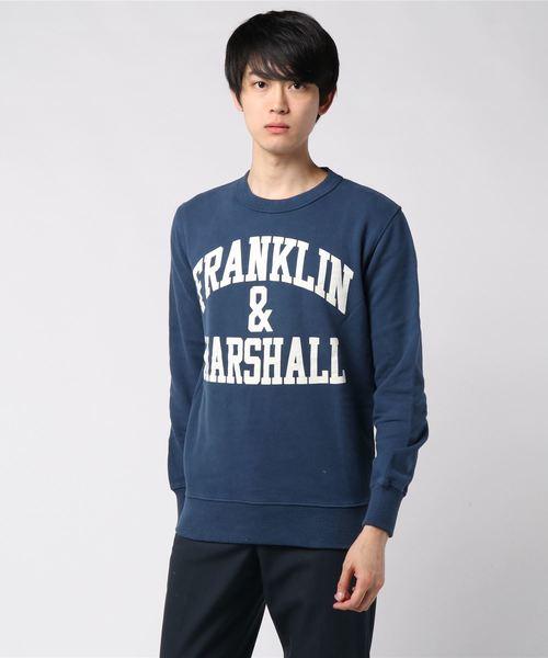 最新作の 【セール】アーチロゴスウェット(スウェット) メンズ,FRANKLIN FRANKLIN & & MARSHALL(フランクリンマーシャル)のファッション通販, インパクトオンライン:54f0b7bc --- hundeteamschule-shop.de