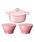 Le Creuset(ルクルーゼ)の「【特別セット】シグニチャー ココット・ロンド 18cm & ボール(L)2個 セット(キッチンツール)」 ピンク系その他