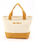 MONO COMME CA(モノコムサ)の「キャンバス トートバッグ(トートバッグ)」|マスタード