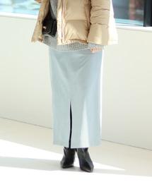 SLOBE IENA(スローブイエナ)のスエードライクタイトスカート◆(スカート)