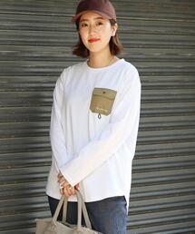 【吸水速乾】LOGOS(ロゴス)別注ポケットTシャツ(ポケT/ロンT)#