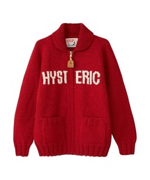 CANADIAN SWEATER×HYSTERIC/ HYSTERIC WOMAN編込カウチンレッド