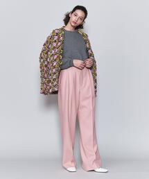 <6(ROKU)>WIDE PANTS/パンツ