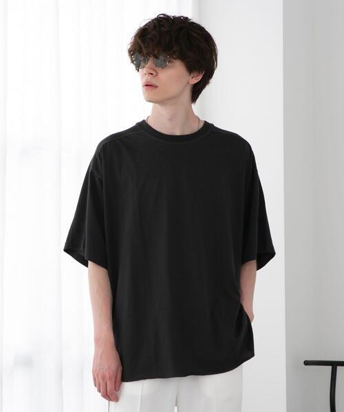 FEELING MADE クイックドライ天竺 ヨークライン オーバーサイズTシャツ
