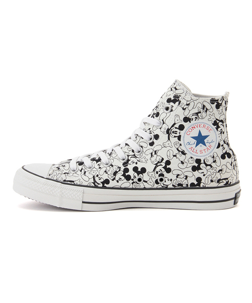 6e679428a996 MICKEY MOUSE(ミッキーマウス)の「CONVERSE ALL STAR 100 MICKEY MOUSE PT HI