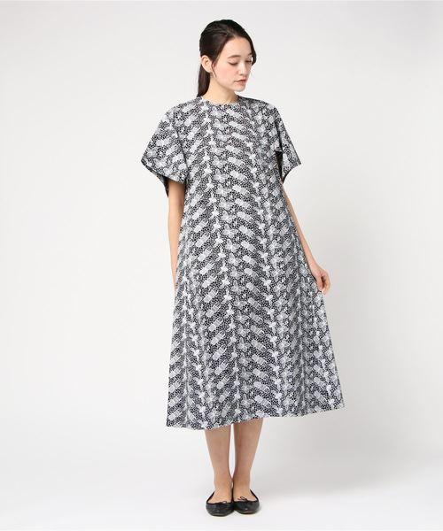 b07241cd363d7 mintdesigns(ミントデザインズ)のLACE PRINT DRESS   レースプリントドレス(ワンピース