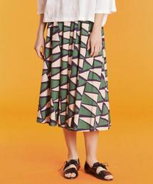 LE GLAZIK(ルグラジック)の【LE GLAZIK】バティック フレアスカート BTK WOMEN(スカート)