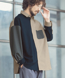 ANGENEHM(アンゲネーム)のms3965-Crazy Over Size Shirts (MADE IN JAPAN) シャツ(シャツ/ブラウス)
