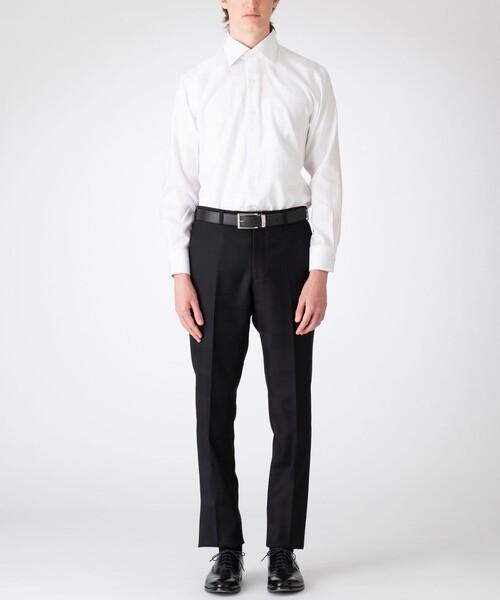BLACK LABEL CRESTBRIDGE(ブラックレーベル?クレストブリッジ)の「シャドークレストブリッジチェックセミワイドカラーシャツ(シャツ/ブラウス)」 詳細画像