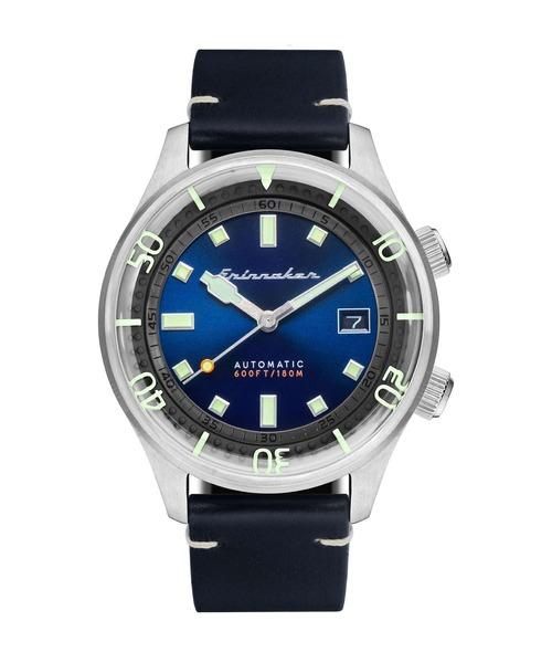 SPINNAKER(スピニカー)の「SPINNAKER BRADNER スピニカー ブラドナー ダイバーズ 腕時計 時計 SP-5062-03 メンズ(腕時計)」 ブルー