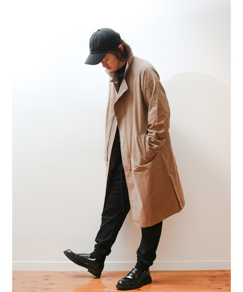 お見舞い 【MB LABO企画】スリット スタンド コート, くすりのエンジェル 26dcd2b0