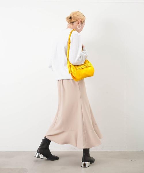 LUCA/LADY LUCK LUCA(ルカ/レディラックルカ)の「LC/LLL カルゼフレア切替スカート(スカート)」|詳細画像