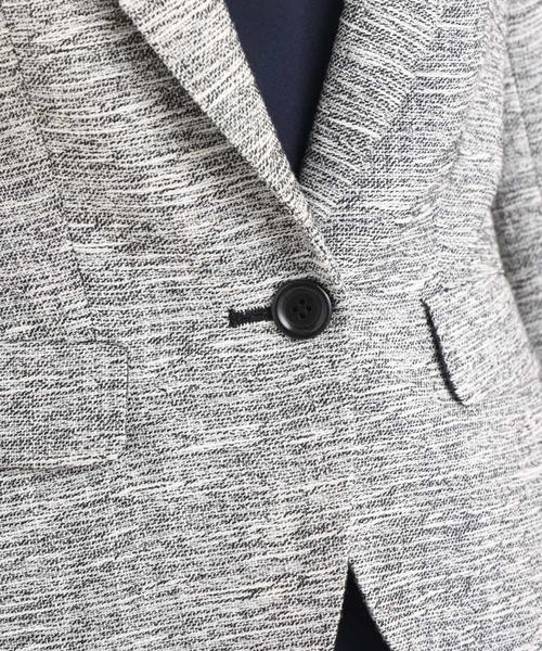 【セットアップ対応】ツイードテーラードジャケット