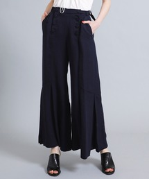 a481f2a7bc5a0 LOKITHO(ロキト)の「 LOKITHO TUCKED FLARED PANTS(パンツ)」
