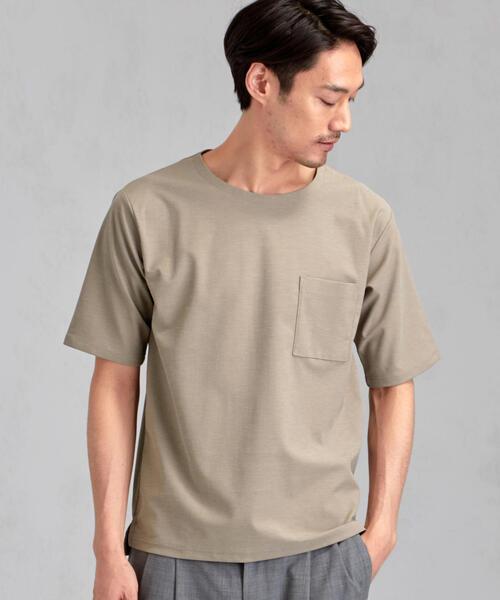 CM エラシックマイヤー ノーカラー 半袖 Tシャツ