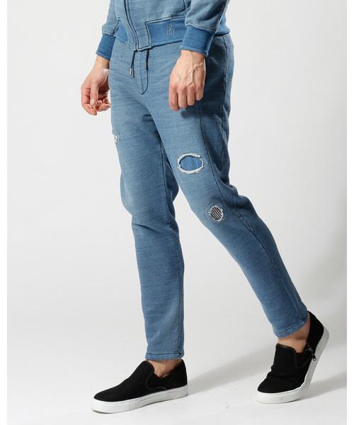 新しい到着 knit denim pants(デニムパンツ) denim wjk(ダヴルジェイケイ)のファッション通販, OOTW:58c0d2eb --- kindergarten-meggen.de