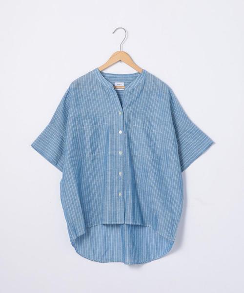 【先行販売】インディアンコットンリネンシャツ