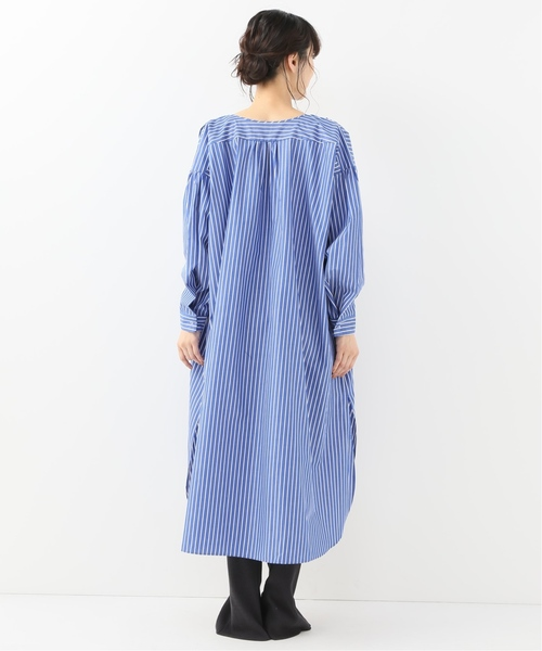 【MIRKO BERTOLA】オーバーサイズドシャツドレス◆