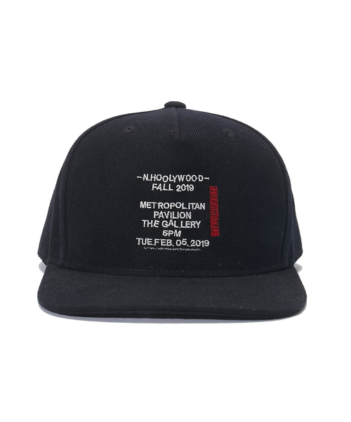 N.HOOLYWOOD FALL & WINTER 2019COLLECTION LINE CAP