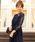 niana(ニアナ)の「総チュールレースロング 結婚式ワンピース パーティードレス 成人式 同窓会 二次会 ドレス(ドレス)」|ネイビー
