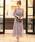 niana(ニアナ)の「総チュールレースロング 結婚式ワンピース パーティードレス 成人式 同窓会 二次会 ドレス(ドレス)」|ダークラベンダー